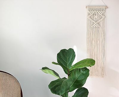 Macrame Wall Hanging - Rustic Cotton Wall Decor