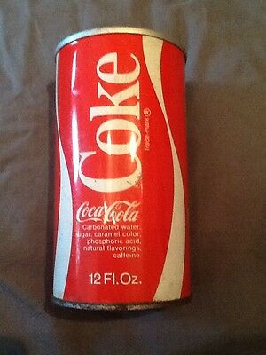 Old Coca Cola Collectible Can