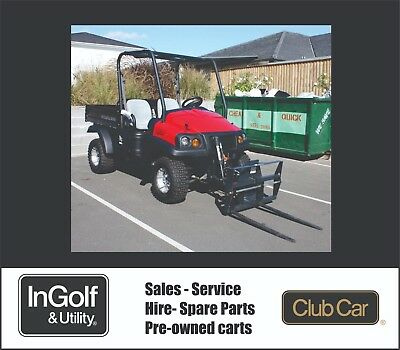 NEW Ingersoll Rand XRT Club Car Diesel 4x4 ATV Off-Road forklift all terrain