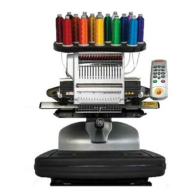 Melco Bravo Package A - 16 Needle Embroidery Machine Lease for $206.00 a month.