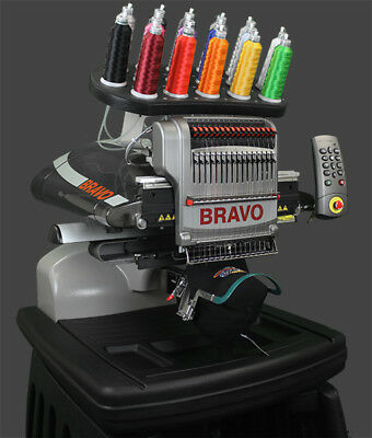 Melco Bravo Package B - 16 Needle Embroidery Machine Lease for $222.00 a month.