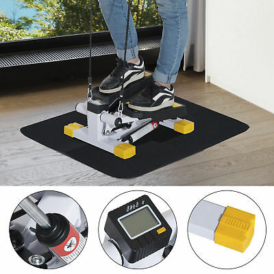 HOMCOM Mini Stepper Workout Fitness Machine Pulling Rope Sport Exercise Home Gym