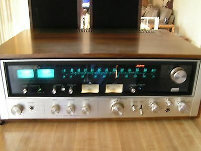 SANSUI 8080 Audio Stereo Receiver Amplifier 80WPC Great Condition Original Owner