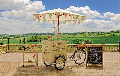 Ice cream cart, ELECTRIC Tricycle with a Freezer, shipping available