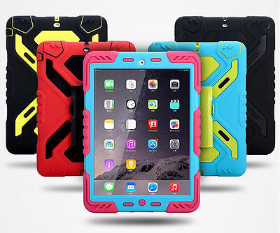 "PEPKOO School Use New iPad 2017 9.7"" Heavy Duty Tough Case, DISCOUNT for Schools"