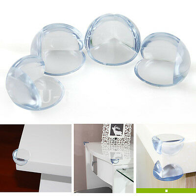 4x Baby Child Safety Protector Proofing Soft Table Corner Edge Protection Cover