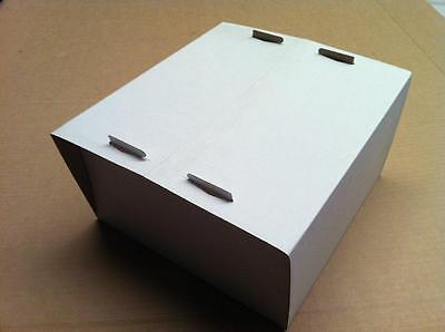 "14.5"" Cake Box White (Bundle 50)"