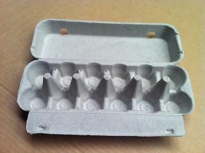 Egg Cartons, 1doz plain, flat top  (CRT OF 150)
