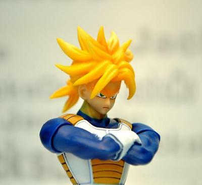 JacksDo SHF Dragon Ball Super Saiyan II Trunks head (no body) for Bandai Vegeta