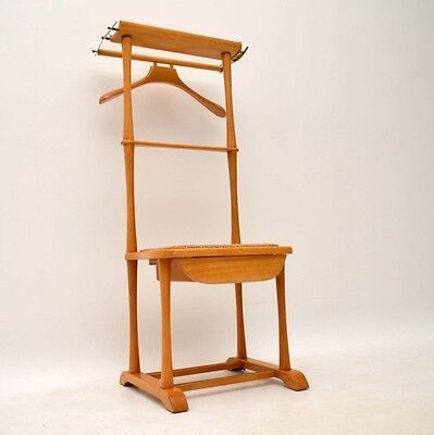 RETRO VALET CLOTHES STAND / CHAIR VINTAGE 1960's