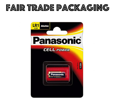 1 x Panasonic LR1 Battery 1.5V (N Type / MN9100)