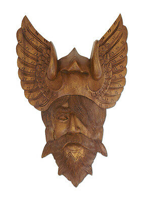 Odin from wood  - hand carved - LARP - Viking - Medieval - Reeactment Thor Wotan