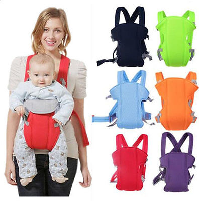 Breathable Backpack Infant Sling Baby Carrier Rider Adjustable Ergonomic New