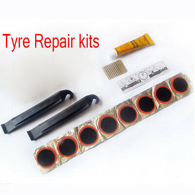 Portable Cycling Bike Bicycle Repair Tire Tyre Tool Sets Kit Rubber Patches Care