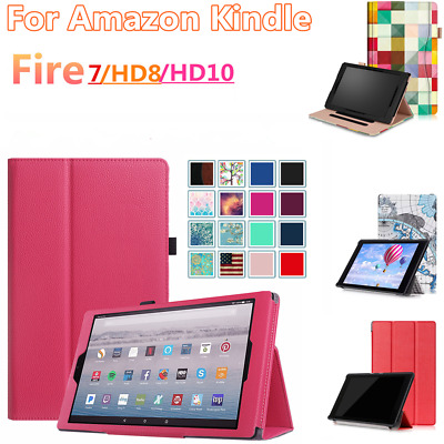 2017 All-New Magnetic Smart Case Cover For Amazon Kindle Fire 7 / HD 8 7th Gen