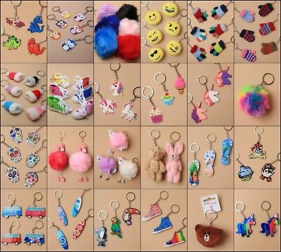 Keyrings, Charms, Fashion Accessory, Loot Bag, Present Unisex, Pack Choice, Gift