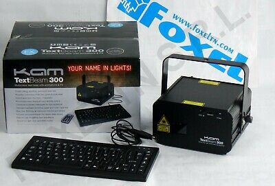 Kam Text Beam 300 Multicolor Text Laser Con Animations & Fx - 9906 -