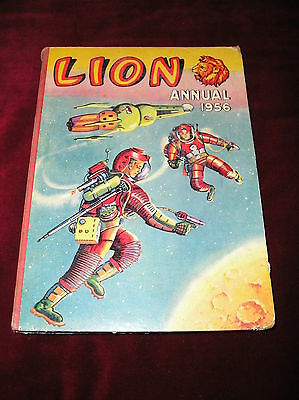 1956 Lion Annual - Good Condition - Not Price Clipped