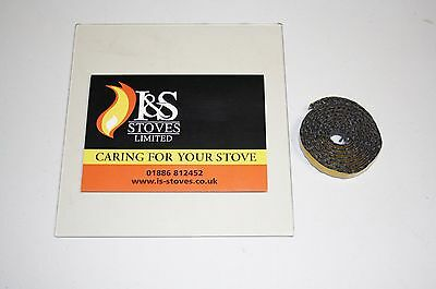 Hunter Stove Replacement Glass with FREE Seal/Gasket - All Models