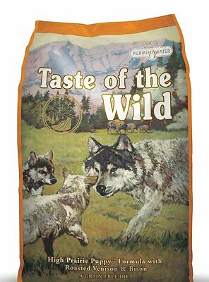 Taste Of The Wild Puppy Food High Prairie with Roasted Venison and Bison | 6KG