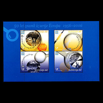Slovenia 2005 - 50th Anniversary of EUROPA Stamps s/s - Sc 605a MNH