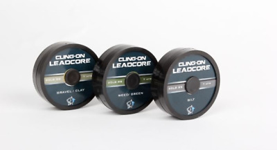 Nash Cling-On Leadcore 45lb 7M Spool For Carp Fishing: Gravel/Clay