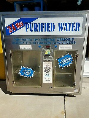 Water store window vending machine stainless high end model, cost $7k nice!