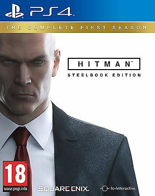 Hitman The Complete First Season Steelbook Edition PS4 New and Sealed