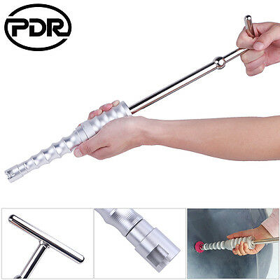 Paintless Dent Repair Silver Slide Hammer T Bar PDR Dent Hail Repair Remove Tool
