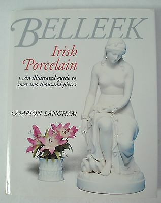 Belleek Irish Porcelain Illustrated Guide by Marion Langham EUC Hardback