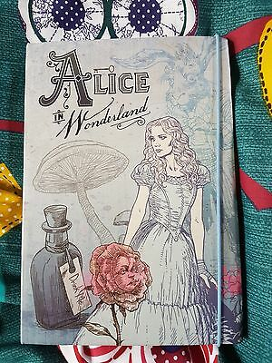 Alice in wonderland diary/notebook last time listing!