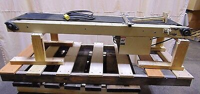 Industrial Incline Belt Conveyor 120 Volt
