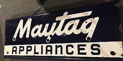 Maytag Appliances Neon Porcelain Sign Skin