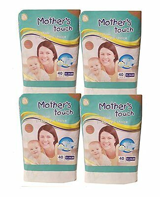 Mother's Touch Disposable Diaper Economy Pack- Size 3 (Medium) : 4 Bags/Pack