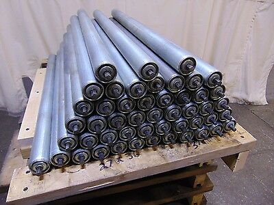 49 Replacement Rollers for Gravity Roller Conveyors