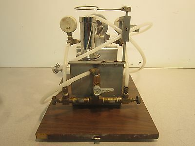 Glen Mills Inc. Laboratory Jet Mill, Some Missing Pieces, Overall Nice Condition