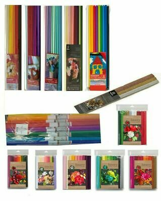 Lia Griffith & Werola Extra Fine Crepe Paper Assorted Colours 130% stretch