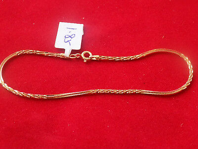 New 18Ct Gold Woman Dolphin Bracelet 750 Plus Giftbox