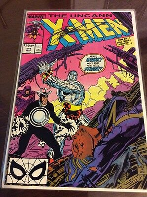 UNCANNY X-MEN #248 Signed by CHRIS CLAREMONT 1st JIM LEE
