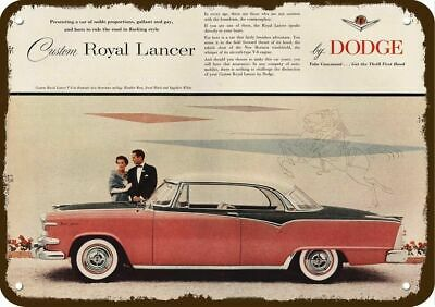 1955 DODGE ROYAL LANCER Car Vintage Look Replica Metal Sign - GALLANT & GAY