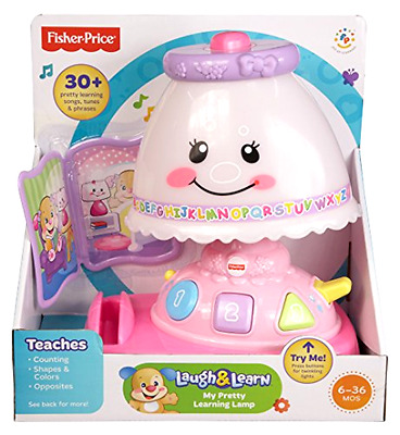 My Pretty Learning Lamp Playset Fisher Price Laugh and Learn Counting and Shapes