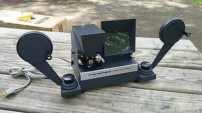 Vintage 8MM MANSFIELD REPORTER Model 650  Action Film Editor Orig Packing & Box