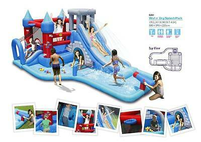 Wet & Dry Inflatable Splash Park 9261 (HAPPY HOP)