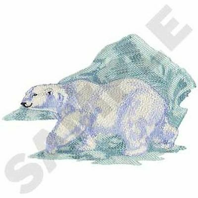 "Polar Bear Embroidered Patch 10.2""x 6.8"""