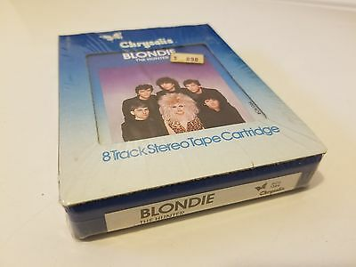 """Vintage Blondie 8 Track!! """"the Hunter"""" Rare Factory Sealed Copy!! Fast Shipping"""