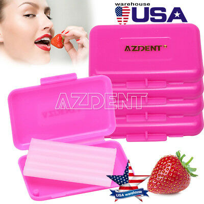 200 X Dental Orthodontic Wax Pink-Strawberry Scent for Braces Gum Irritation NEW