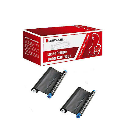 Compatible ( Box of 2 ) KX-FA93 FAX TTR For Panasonic KX-FHD331 332 351