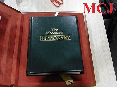 The Macquarie Dictionary (Signed) Limited Edition