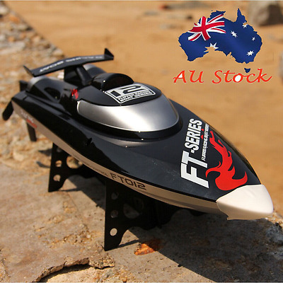 45km/h FT012 High Speed Super Power Brushless Racing RC Control Boat Toy Gift t