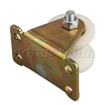 31mm U Groove Track Roller Wheel Caster Rigid Top Plate for Machine Tool